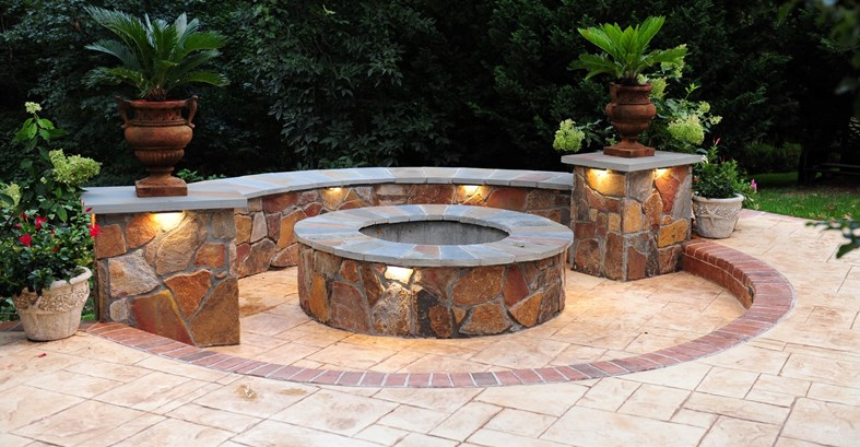 fire pit Now that it's spring, many people are planning out how to optimize  their yards for maximum outdoor use and comfort. We all know we should  spend ...