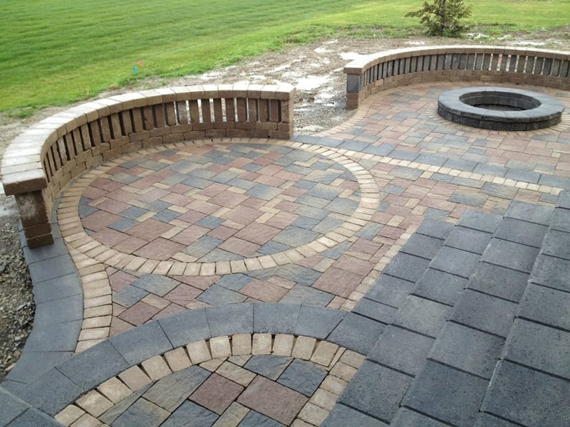 Outdoor Pavers Castle Hill : Patio pavers landscaping arbor hills trees