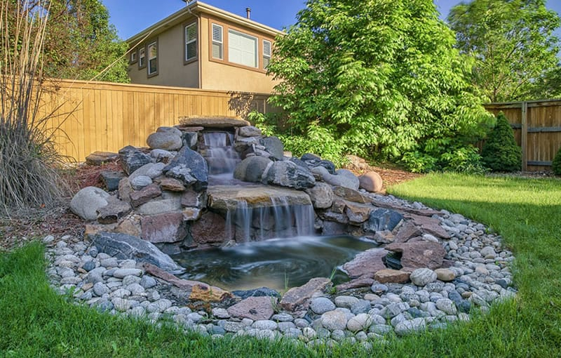 Water Feature Landscaping Designs Arbor Hills Trees