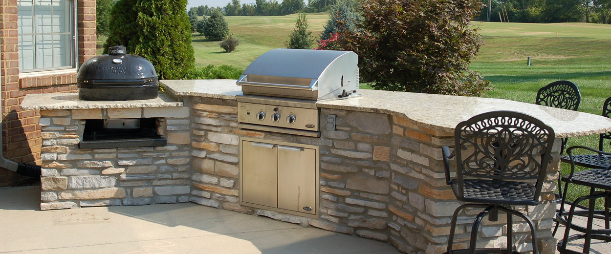 Arbor hills landscaping services omaha elkhorn price match for Outdoor kitchen omaha