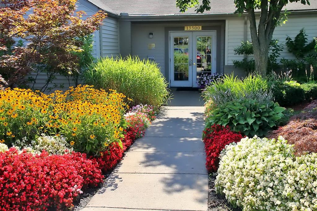 Omaha Garden Walkway