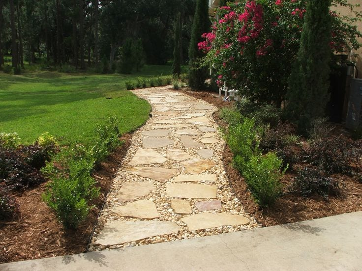 Landscaping Stepping Stones