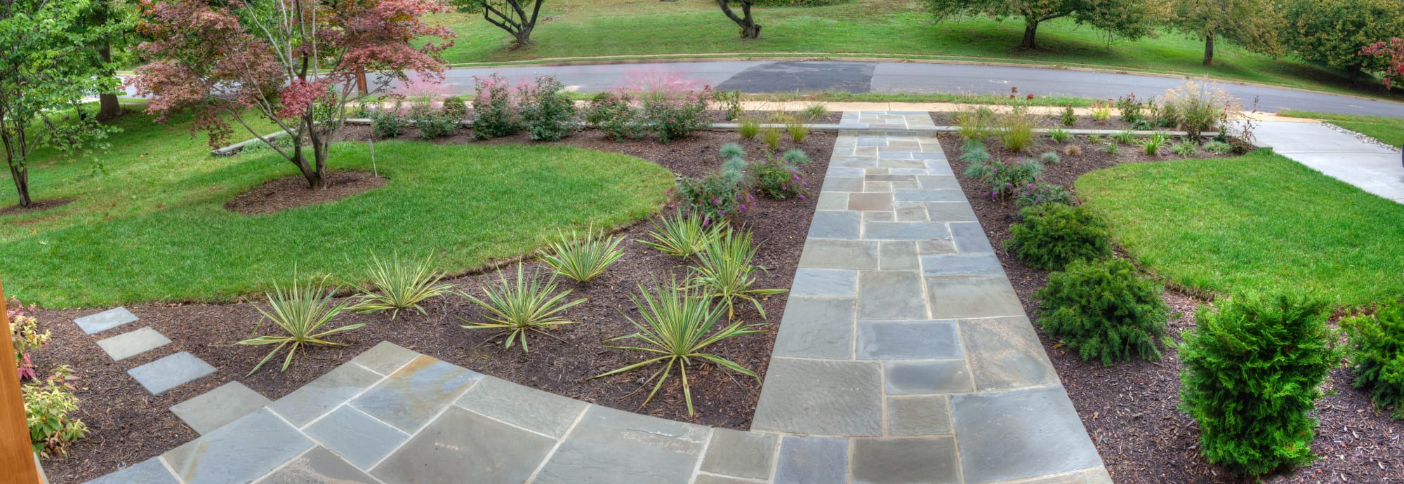 Slate Walkways For Landscaping