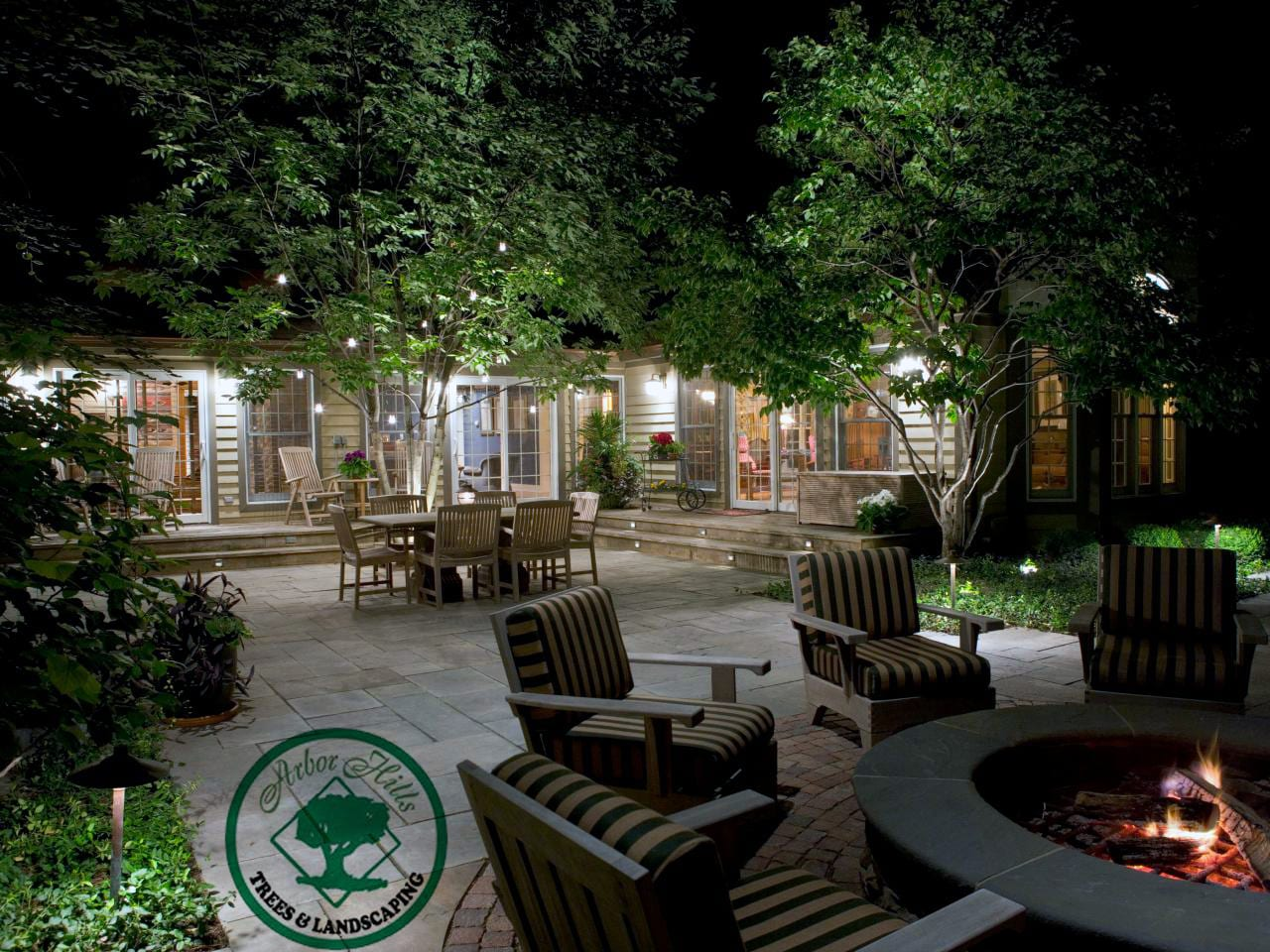 LED vs Halogen Landscape Lighting