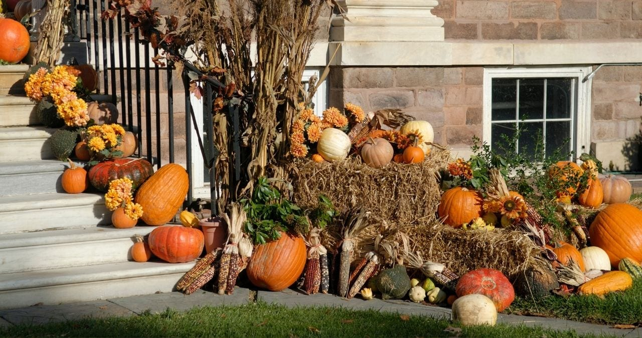 fall home landscaping ideas